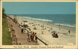 Vero Beach: Beautiful Municipal Beach and Boardwalk