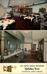 Holiday Inn: The Copper Hearth Restaurant Postcard