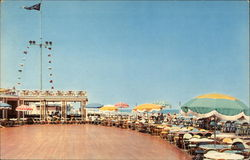 The beautiful and colorful Showboat Deck of the Cavalier Beach and Cabana Club