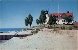 Point Betsy Postcard
