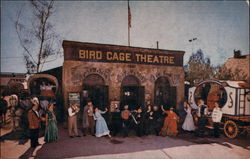 The Old Birdcage Theatre in Ghost Town