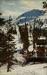Mammoth Mountain Ski Slopes