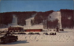 Along Michigan's Highways: Boyne Mountain Ski Lodge
