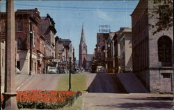 Main Street Looking East with St. Joseph Cathedral in the Background
