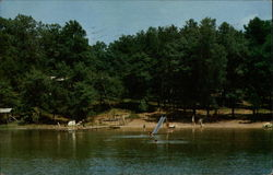 Beach at Evergreen Campsite, Kousel Lake