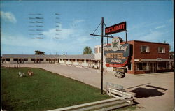 Maple Leaf Motel & Restaurant Postcard