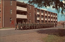 Marching to Class, Marine Corps Recruit Depot
