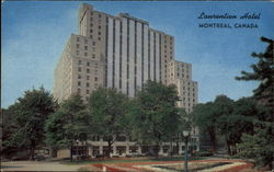 The Laurentien Hotel Postcard