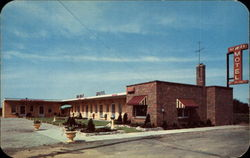 Hi-Way Motel and Restaurant Postcard