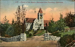 Church of the Angels Postcard