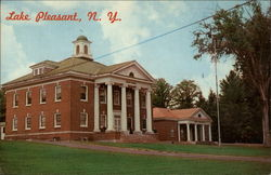 County Clerk's Office and Court House Postcard