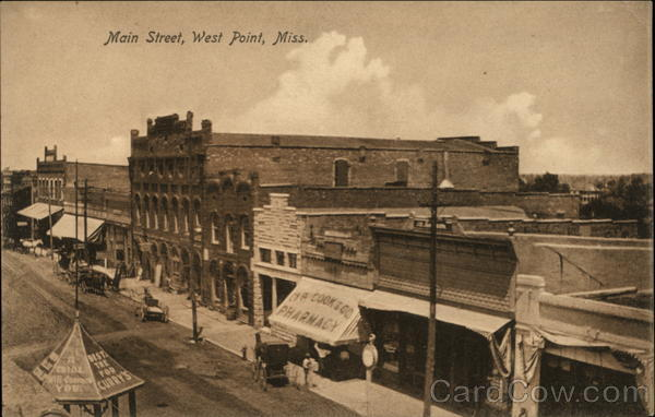 West Point Ms >> Main Street West Point, MS