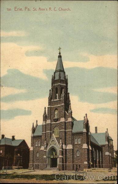 St. Ann's Roman Catholic Church Erie Pennsylvania