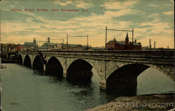 Albany Street Bridge New Brunswick New Jersey