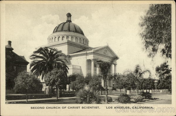 Second Church of Christ Scientist Los Angeles California