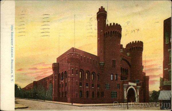 18th Regiment Armory Brooklyn New York