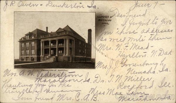 Presbyterian Hospital Waterloo Iowa