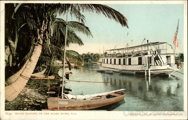 House Boating on the Miami River Florida Riverboats