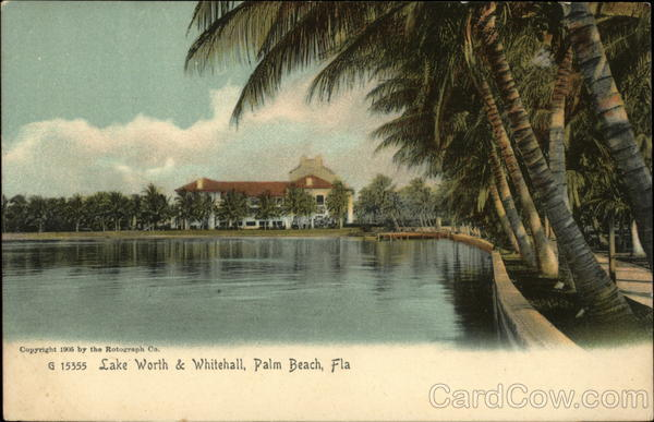 Lake Worth & Whitehall Palm Beach Florida