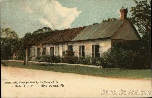 Old Fort Dallas Miami Florida