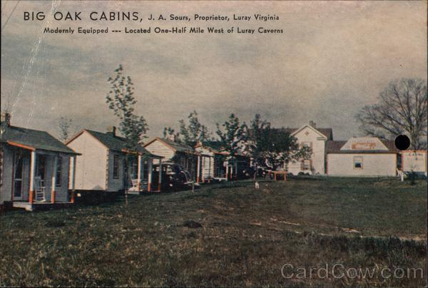 Big Oak Cabins Luray Virginia