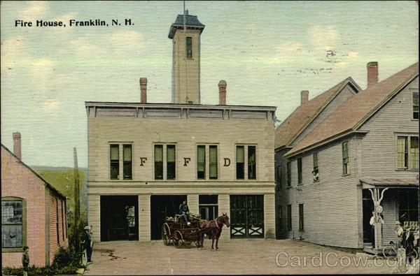 Fire House Franklin New Hampshire