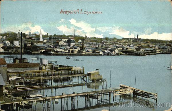 City & Harbor Newport Rhode Island