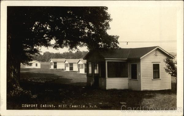 Comfort Cabins West Campton New Hampshire