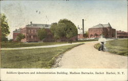 Soldiers Quarters and Administration Building, Madison Barracks