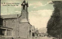 M. E. Church and Shirley Street