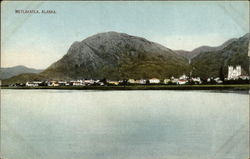 Lake in the Foreground of Metlakatla Postcard