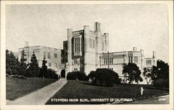 Stephens Union Bldg., University of California