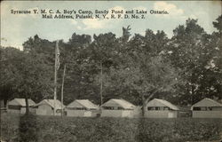Syracuse Y.M.C.A. Boy's Camp, Sandy Pond, and Lake Ontario