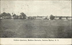 Soldiers Quarters: Madison Barracks
