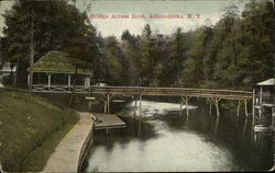 Bridge Across Inlet at Adirondacks