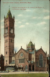 New Old South Church Postcard