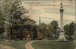 Birchard Library, Soldiers and Sailors Monument Old Betsey