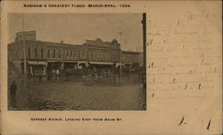 Saginaw's Greatest Flood March to April 1904