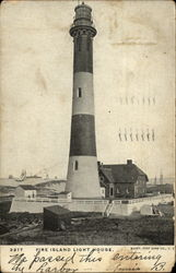 Fire Island Light House Postcard