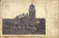 Laurens County Court House and Square