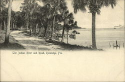 The Indian River and Road