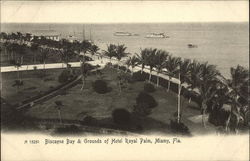 Biscayne Bay & Grounds of Hotel Royal Palm