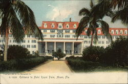 Entrance to Hotel Royal Palm