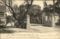 Entrance to Old Fort Dallas