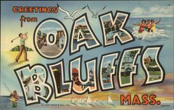 Greetings from Oak Bluffs