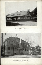 Boston & Maine Station and Nesmith School