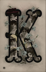 "Letter ""K"" - Pictures of Young Women"