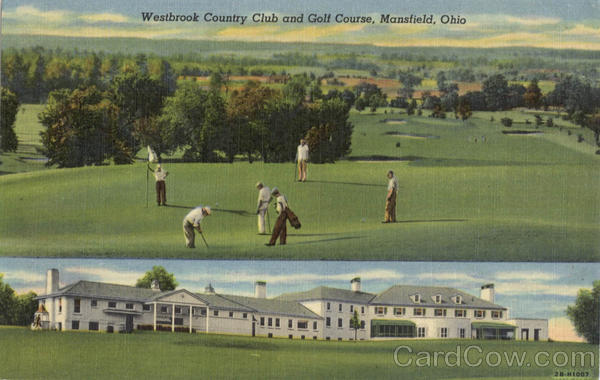 Westbrook Country Club and Golf Course Mansfield Ohio