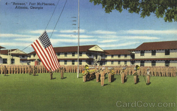 retreat fort mcpherson atlanta ga