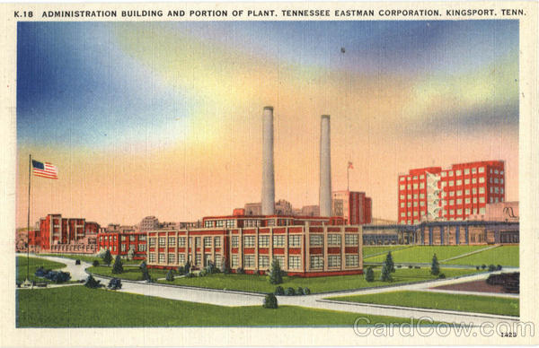 Administration Building & Plant Eastman Corporation Kingsport Tennessee